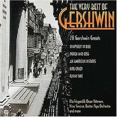 The Very Best Of Gershwin 2 Cd New+