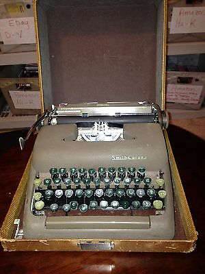 Smith-Corona 1950's portable Typewriter - Usually ships in 12 hours!!!