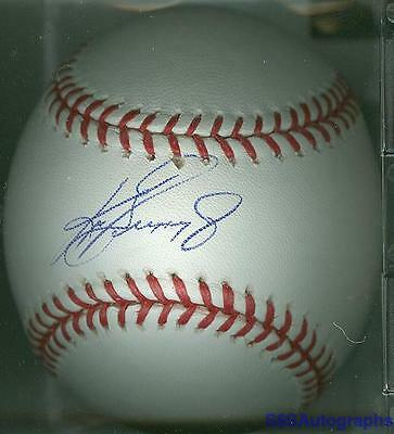 AUTHENTIC KEN GRIFFEY JR SIGNED AUTOGRAPHED MLB BASEBALL SEATTLE MARINERS W/COA