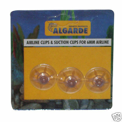 Algarde Airline Clips & Suction Cups For Aquariums 5019614425609