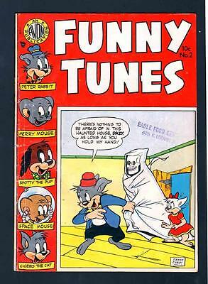 FUNNY TUNES 2 4.5 VG+ 1953 AVON SPACE MOUSE FUNNY ANIMALS