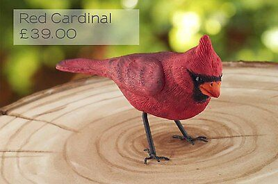 Silicone mould Red Cardinal | Food Use FPC Sugarcraft FREE UK shipping!