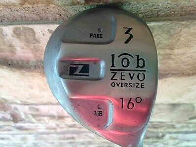 Zevo Lob Oversize Metal Fairway 3 Wood Golf Club / RH