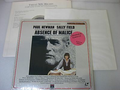 Lot of 4 Laserdiscs ~ Dead Man, Risky Business, Absence of Malice, Total Recall