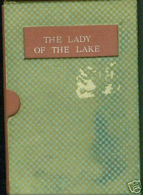 The Lady of The Lake by Sir Walter Scott, w/Slipcase,