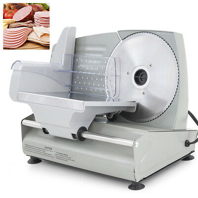 "NEW 7.5"" Electric Meat Slicer Blade Home Deli Food Slicer Veggie Premium Kitchen"