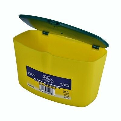 Alvey Large Bait Bucket With Stainless Steel Hinge Pins - Made In Australia