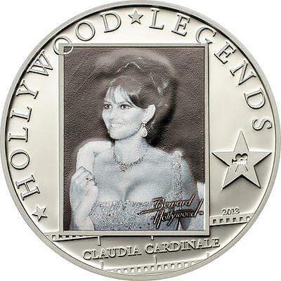 Cook Islands 2011 $5  MARILYN MONROE Silver Proof Coin with real Diamond!!!