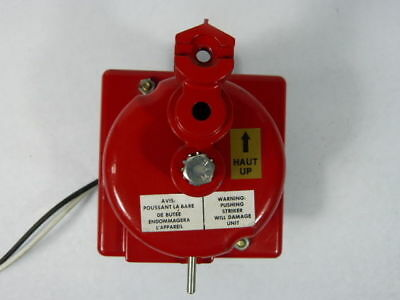 """Edwards 439D-10AWC Fire Bell 10"""" 20-24VCC 0.085amps ! WOW !"""