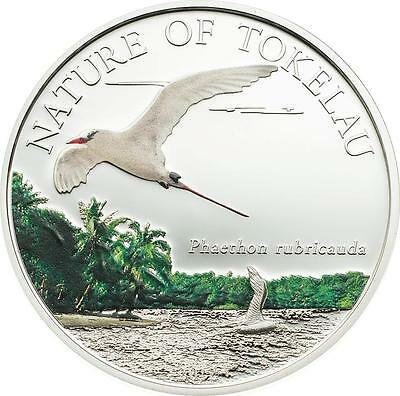 Tokelau 2012 $5 Nature of Tokelau - Tropicbird 20g Silver Proof Coin