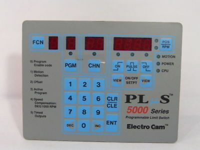Electro Cam PS-5111-10-P16 Plus5000 Programmable Limit Switch ! NEW !