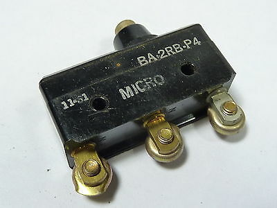 Microswitch BA-2RB-P4 Snap Action Basic Limit Switch ! WOW !