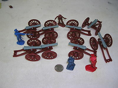 8-2 Post Cannons, Civil War, America Revolution and  Battles