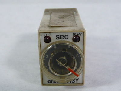 Omron H3Y-4-10S-DC24 Plug-In Timer 14-Pin 4DPT 3A 24VDC 0-10 Seconds ! WOW !