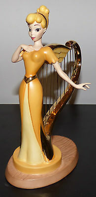 Wdcc Mickey And The Beanstalk Singing Harp Beautiful Diversion Disney Figurine