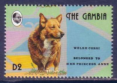 Welsh Corgi Dogs Gambia MNH stamp 1993 WECO22