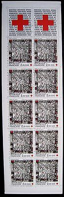 France 1986 - Croix Rouge -  Carnet - timbre neuf -