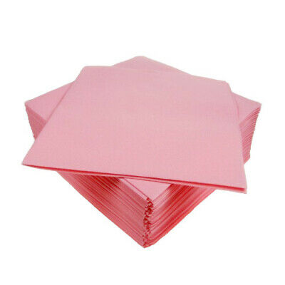 Airlaid Napkins 40cm Pink - Pack of 50