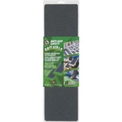 "Anti-slip Safety Grit Tape, Black, Self Adhesive, 6"" X 21"" Strip, High Traction"