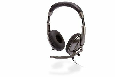 Cyber Acoustics Ac-8000 Headset - Stereo - Mini-phone Wired - 20 Hz 20 Khz -