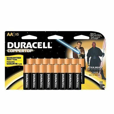 Oral B 00041333929484 Duracell 16 Pack Aa Batteries