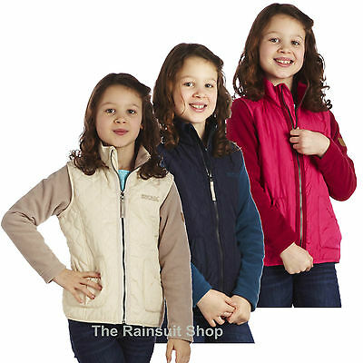 Regatta Girls Kekata Equestrian Insulated Quilted Fleece Coat Jacket Kids 5-12Y