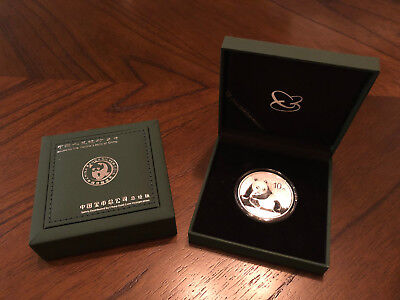 2015 China Panda Silver 1 Troy Oz .999 Fine Silver Coin 10 Yuan Face Value Mint
