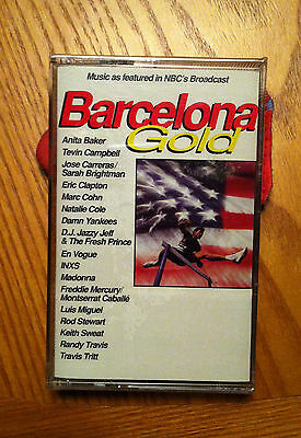 """Barcelona Gold - """"Music as featured in NBC's broadcast"""" - 1992 Summer Olympics"""