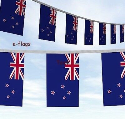 10 Metres New Zealand Kiwi Rugby Flag Bunting
