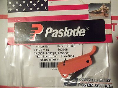 """Genuine"" Paslode  Part # 402408 TRIGGR ASSY(3/4/5000)"
