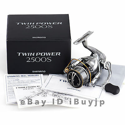 *NEW* Shimano 15 Twinpower 2500S Saltwater Spinning Reel 033673