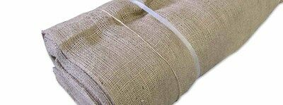 Hessian 14oz Bolt 50 metres x  1.8m Natural Weddings Vintage Rustic Garden Party