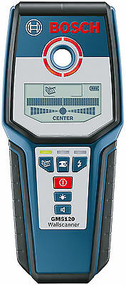 Bosch Professional Digital Multi-Meterial Cable Detector Wall Scanner GMS120