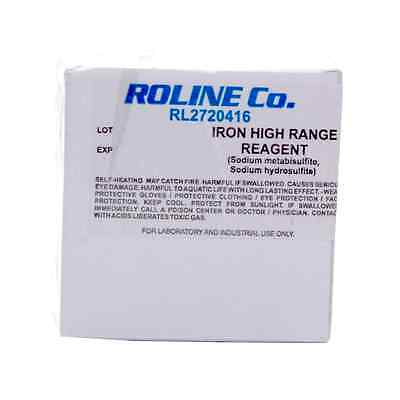 25 Sachets of High Range Iron Reagent for Milwaukee MW14