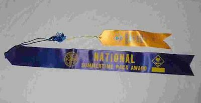 TWO Old Ribbons - Cub Scout National Summertime Award