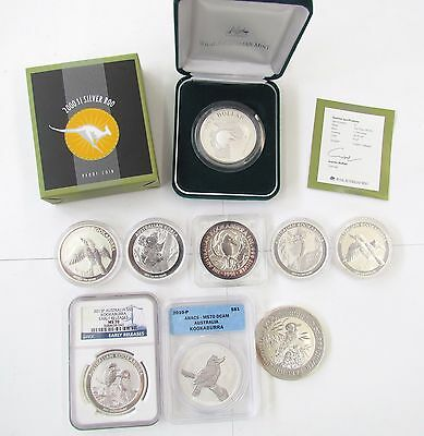 Collection of Australian Silver Coins
