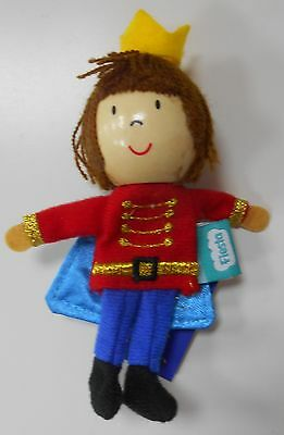 Finger Puppet Prince Toy Fiesta NEW