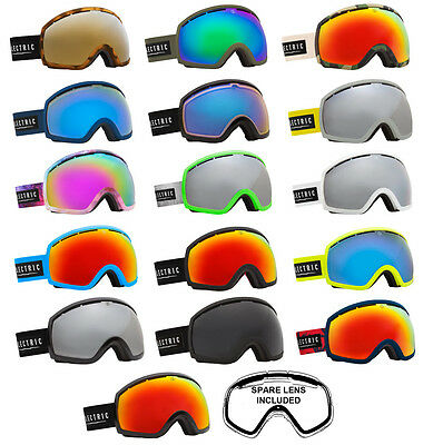 Electric Snowboard and Ski Goggles - EG2 - Including Spare Low Light Lens 2015