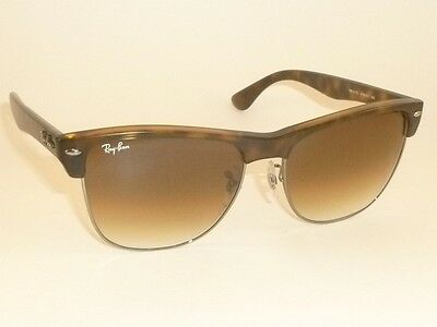 097de39f1df7f New RAY BAN Sunglasses CLUBMASTER OVERSIZED RB 4175 878 51 Brown Gradient  Lens