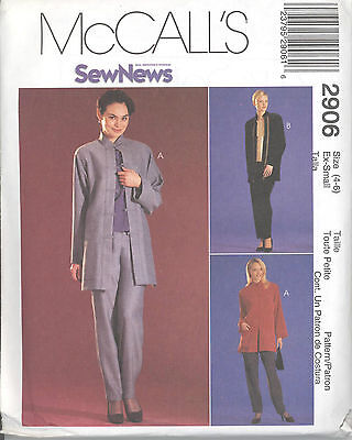 McCall/'s 3931 M//MP Lined or Unlined Jackets 12 10 Pants and Skirt  8 Top
