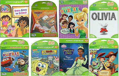 LeapFrog Tag Activity Books ~Various Books~ (Ages 4-8 years)