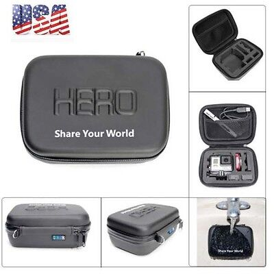Small Size Waterproof Shockproof EVA Storge Carry Bag Case for GoPro Hero 4 3+ 2