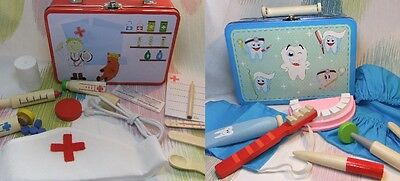 Children's Pretend Play Medical Doctor & Dentist Dress up Toy Set Value Pack!