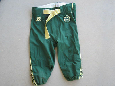 Colorado State University Football pants Russell Athletic Green/gold