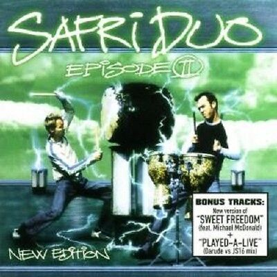 SAFRI DUO 'EPISODE II/SWEET FREEDOM EDIT' CD NEW+ !