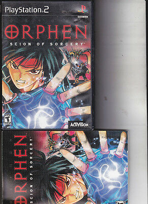 Orphen: Scion of Sorcery  (Sony PlayStation 2, 2000) complete