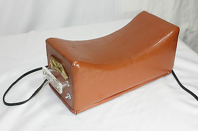 Vintage Slender Massage Neck Rest Foremaster Appliances Mid Century Clean