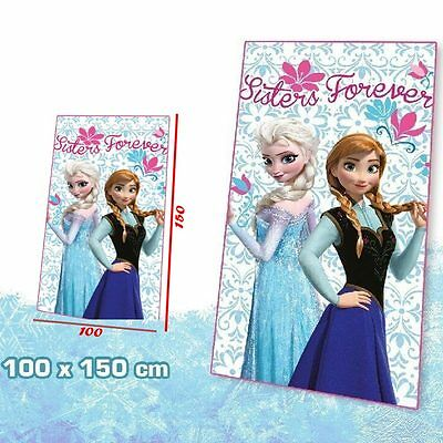 Plaid coperta in pile Frozen Disney 100 x 150 centimetri
