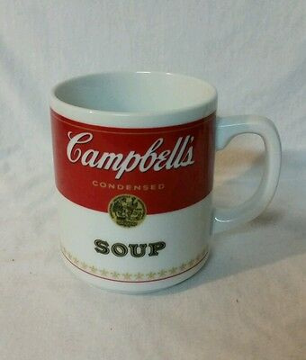 CAMPBELL'S CONDENSED SOUP Cup Mug - Genuine Porcelain Corning Glass Works