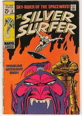 Marvel Comics  VGF- SILVER SURFER #6 fantastic four